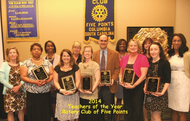 2012 Teachers of the Year